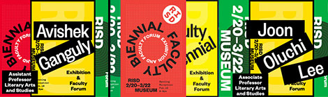 LAS Faculty Participate in the RISD Museum Biennial
