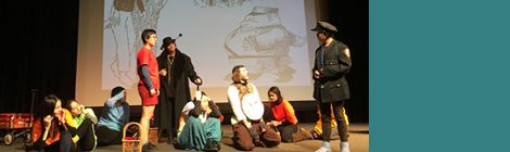 "RISD Theater Production Workshop Presents ""The Phantom Tollbooth"""